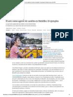 El Arte Como Agente de Cambio en Medellín