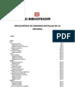 Batallas de La Historia Vol. II - Tomo I
