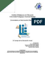Campo Educacion Inicial
