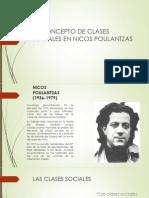 El Concepto de Clases Sociales en Nicos Poulantzas