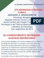 Consentimiento Informado e Historia Clinica Cali