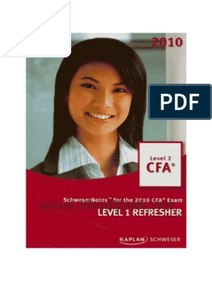28388365 CFA L2 Level 1 Refresher
