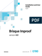 Creo brisque Improof instalation and user guide