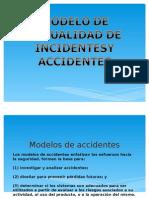 Seguridad Trabajo(modelos de causalidad de incidentes y accidentes)