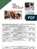 Multigrado 1er Bimestre 2014 (Septiembre)