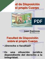 13 Facultad de Disposicion Sobre El Propio Cuerpo