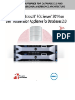Dell Acceleration Appliance for Databases 2.0 and Microsoft SQL Server 2014