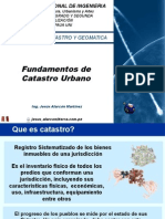 Fundamentos de Catastro Urbano