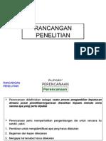 RANCANGAN PENELITIAN-2