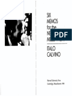 Calvino_Six Memos for the Next Millenium