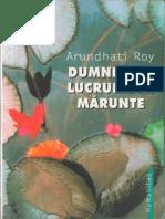 Fileshare.ro Arundhati Roy Dumnezeul Lucrurilor Mărunte
