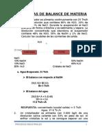 Ejercicios Propuestos de Procesos Industriales