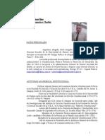 Curriculum Dr. Jorge Cholvis
