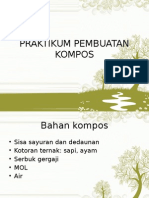 4. Praktek Pembuatan Kompos
