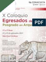 Congreso de egresados del Posgrado de Arqueología