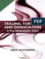 [Aida Alayarian] Trauma, Torture and Dissociation