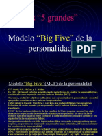 Psicologia Big 5