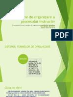 7 Forme de Organizare