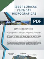 Bases Teoricas Cuencas Hidrograficas