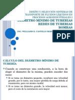 clase 7c - Diseño y selección sistemas de transporte de fluidos líquidos en procesos agroindustriales II.pptx