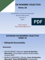Tema 16 - Sociedad en Nombre Colectivo