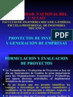 Formulacion de Proyectos - 2010