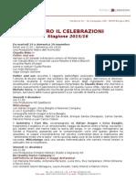 Stagione 2015 2016 Teatro Il Celebrazioni Bologna
