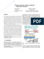 Patterns for Efficient, Predictable, Scalable, and Flexible Dispatching Components