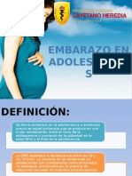 Embarazo Adolescente 2014