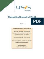 Curso de Matemática Financeira Com HP 12C - Módulo I