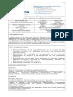 PRINCIPIOS ADMINISTRACION  2015