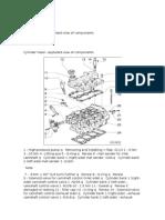 Despiece de Tapaválvulas de Motores 3.2 L, 6 Cilindros, 4 Val. (AUK, BKH)