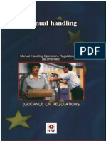 Manual Handling - L23 - Training Excerpts