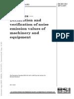 BSI 4871 Noise Emissions
