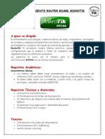 Curso Práctico Router Board Mikrotikv2