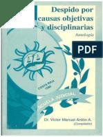 Despido Por Causas Objetivas y Disciplinarias - Víctor Manuel Ardon a.