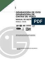 Instrucciones Vídeo Grabador LG