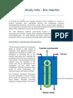 Feasibility Study Bioreactor