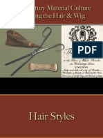 Hygiene & Body Functions - Hair - Male - Dressing the Hair