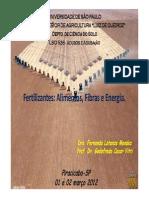 1 Aula LSO-526 Aspectos Basicos de Nutricao Mineral de Plantas