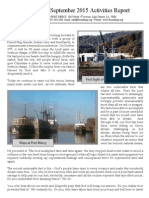 Friend Ships Activities Report - September 2015