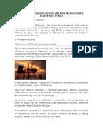 Reservas Probadas Hidrocarburos México Suben Levemente