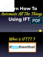 Learn How to Automate All the Things Using IFTTT