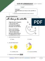 Guia de Aprendizaje Lenguaje 1BASICO Semana 7 2015