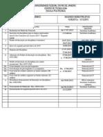 Calendario POLI 2015 2