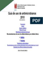 Guia de Uso de Antibioticos 2010