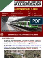 Desarrollo Ferroviario en El Perú Archivo
