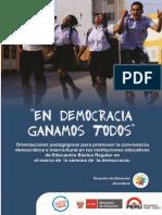 Semanade La Democracia