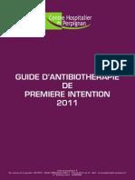 Guide Antibiotherapie 2011 Smit Chp
