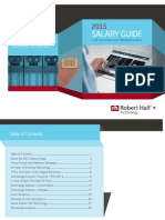 Salary Guide Part 1